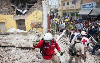 Jojutla, Morelos, uno de los municipios más afectados tras el sismo del 19 de septiembre.
