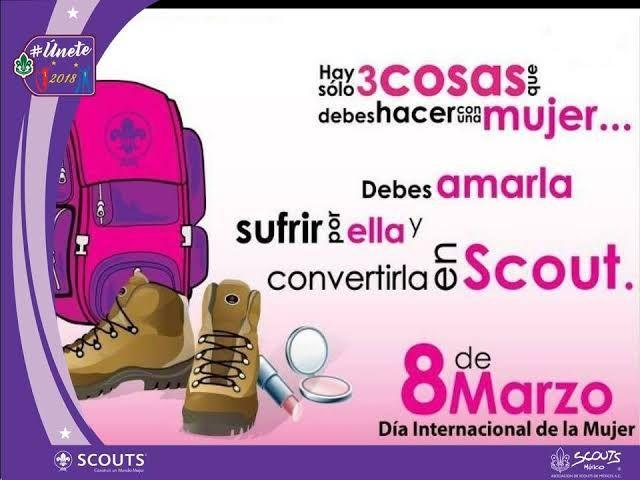Publicación sexista realizada el 8 de marzo (Día Internacional de la Mujer) de 2018 por la ASMAC.